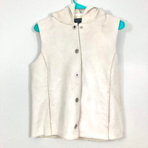 Jones New York Signature Faux Leather Vest